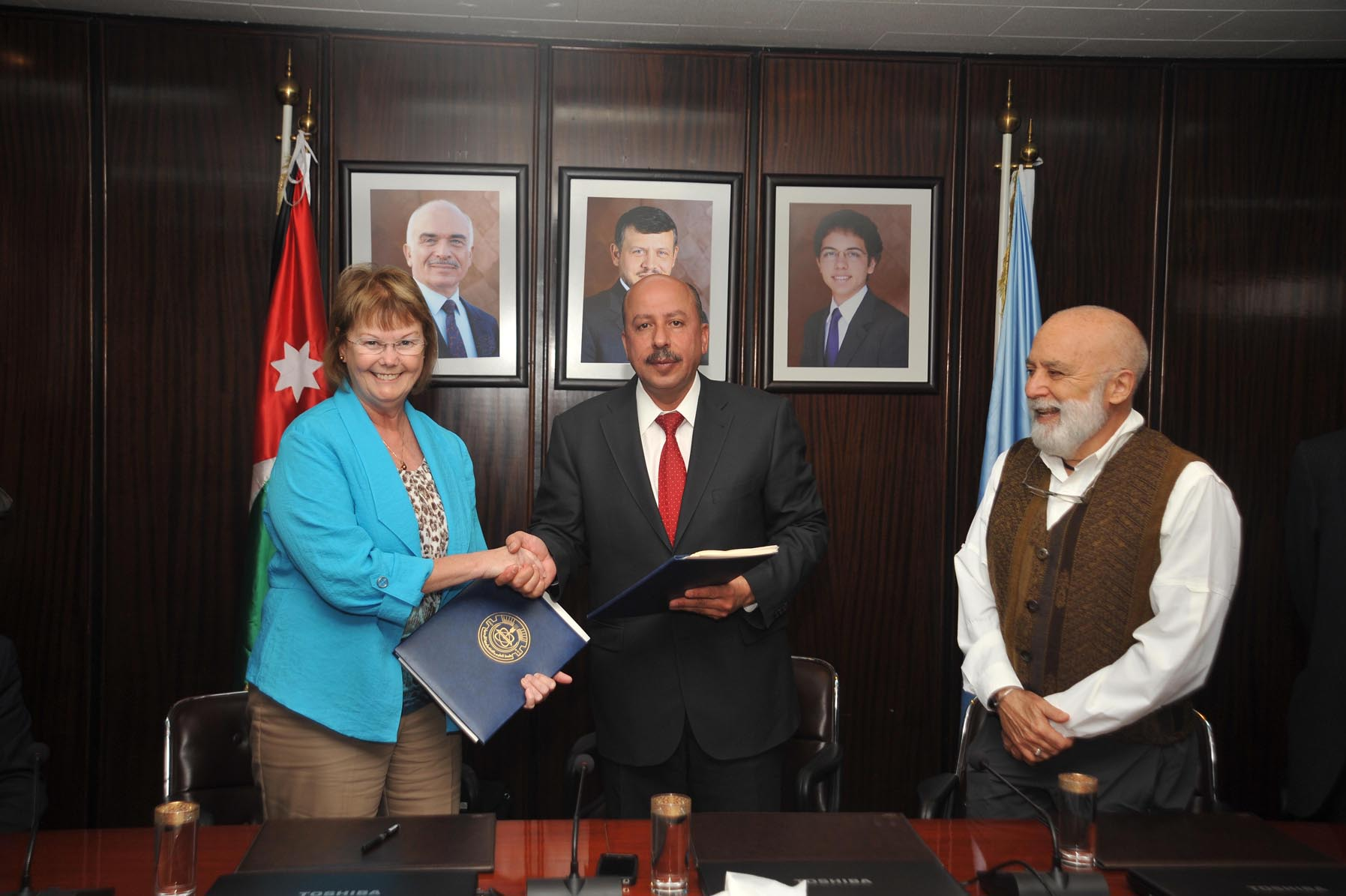 JustNews - JUST signs MoU with the Lutheran Medical